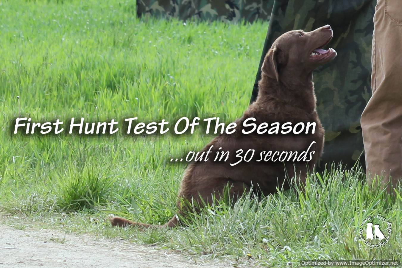 First Hunt Test Of The Season Over In 30 Seconds