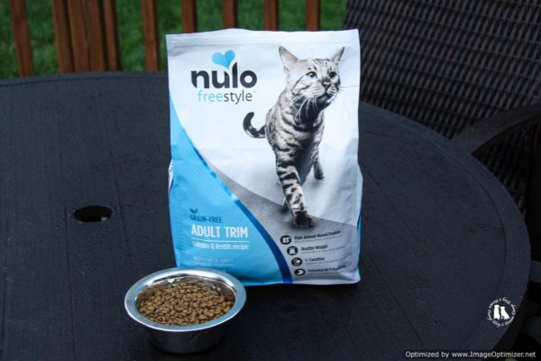 Nulo Freestyle Salmon & Lentil Recipe Grain Free Adult Trim Cat Food From Chewy.com