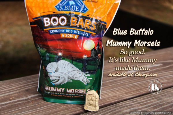 Blue Buffalo's Mummy Morsels From Chewy.com