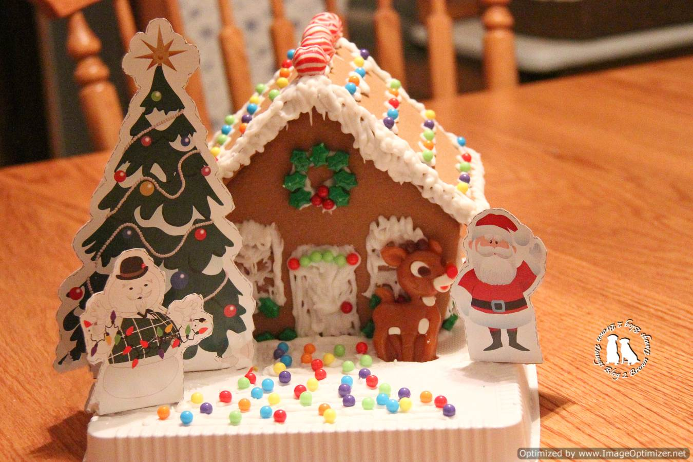 Let 39 S Decorate A Gingerbread House 2 Brown Dawgs Blog