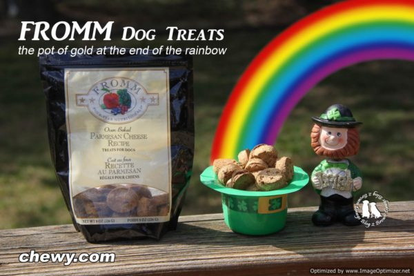 Fromm Dog Treats The Pot Of Gold At The End Of The Rainbow